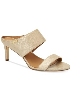 Calvin Klein Women's Cecily Wide-Strap Sandals Women's Shoes