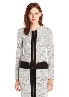 Calvin Klein Women's Center Zip Jacket