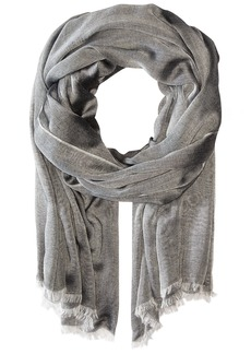 Calvin Klein Women's Chambray Scarf black