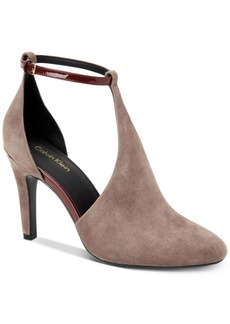 Calvin Klein Women's Cherilyn Ankle-Strap Pumps Women's Shoes