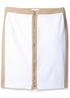 Calvin Klein Women's Chevron Texture Skirt