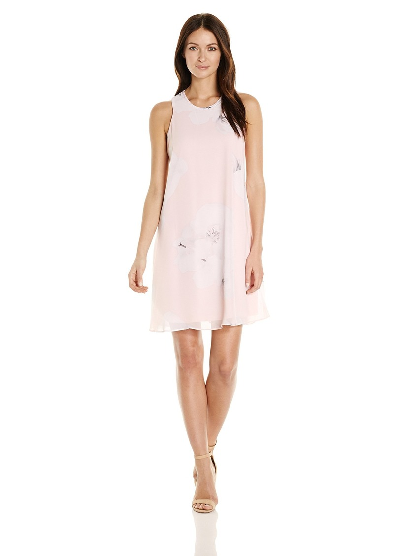 a5aa92a09991 Calvin Klein Calvin Klein Women's Chiffon Floral Trapiz Dress   Dresses