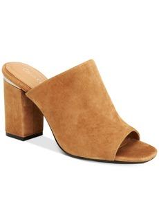 Calvin Klein Women's Cicelle Peep-Toe Mules Women's Shoes