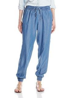 Calvin Klein Women's Cinched Bottom Tencel Pant