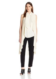 Calvin Klein Women's Circle Shawl with Lurex