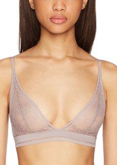 c1e4eaacbd from Amazon Fashion · Calvin Klein Women s CK Black Obsess Unlined Triangle  Bra S