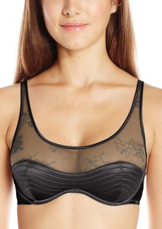 Calvin Klein Women's Ck  Daring Lightly Lined Demi Bra 36B