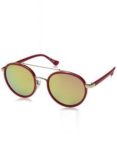 Calvin Klein Women's CK1225S Round Sunglasses