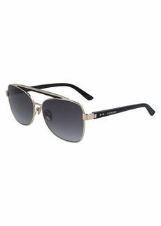 Calvin Klein Women's CK19307S Butterfly Sunglasses