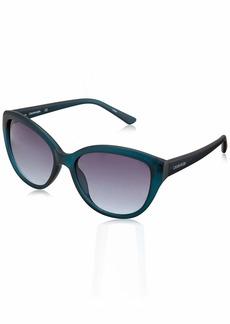 Calvin Klein Women's CK19536S Cat-Eye Sunglasses