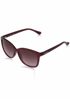Calvin Klein Women's CK19542S Rectangular Sunglasses