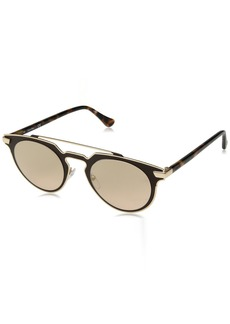 Calvin Klein Women's Ck2147s Round Sunglasses CHOCOLATE