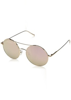 Calvin Klein Women's Ck2156s Round Sunglasses ROSE GOLD