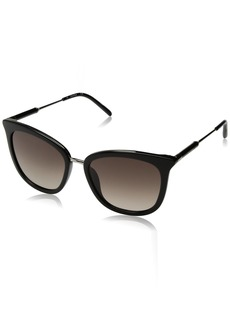 Calvin Klein Women's Ck3201s Cateye Sunglasses BLACK