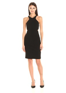 Calvin Klein Women's Cocktail Dress with Wasit Cutouts