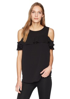 Calvin Klein Women's Cold Shoulder Blouse  S