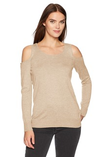 Calvin Klein Women's Cold Shoulder Sweater  L