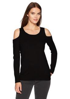Calvin Klein Women's Cold Shoulder Sweater  L