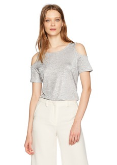 Calvin Klein Women's Cold Shoulder Top  XL