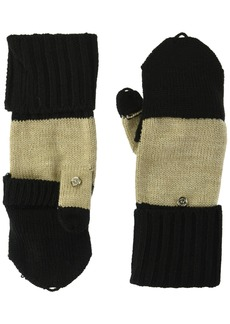 Calvin Klein Women's Colorblock Flip Top Glove