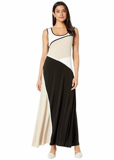 Calvin Klein Women's Colorblock Maxi Dress
