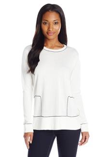 Calvin Klein Women's Colorblock Planal Pullover