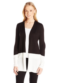 Calvin Klein Women's Colorblocked Cardigan  M