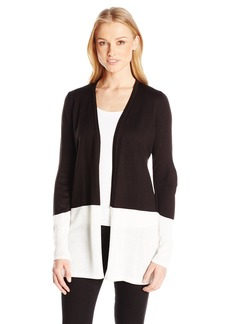 Calvin Klein Women's Colorblocked Cardigan  S