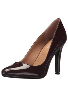 Calvin Klein Women's Cosima Patent Pump  8 Medium US