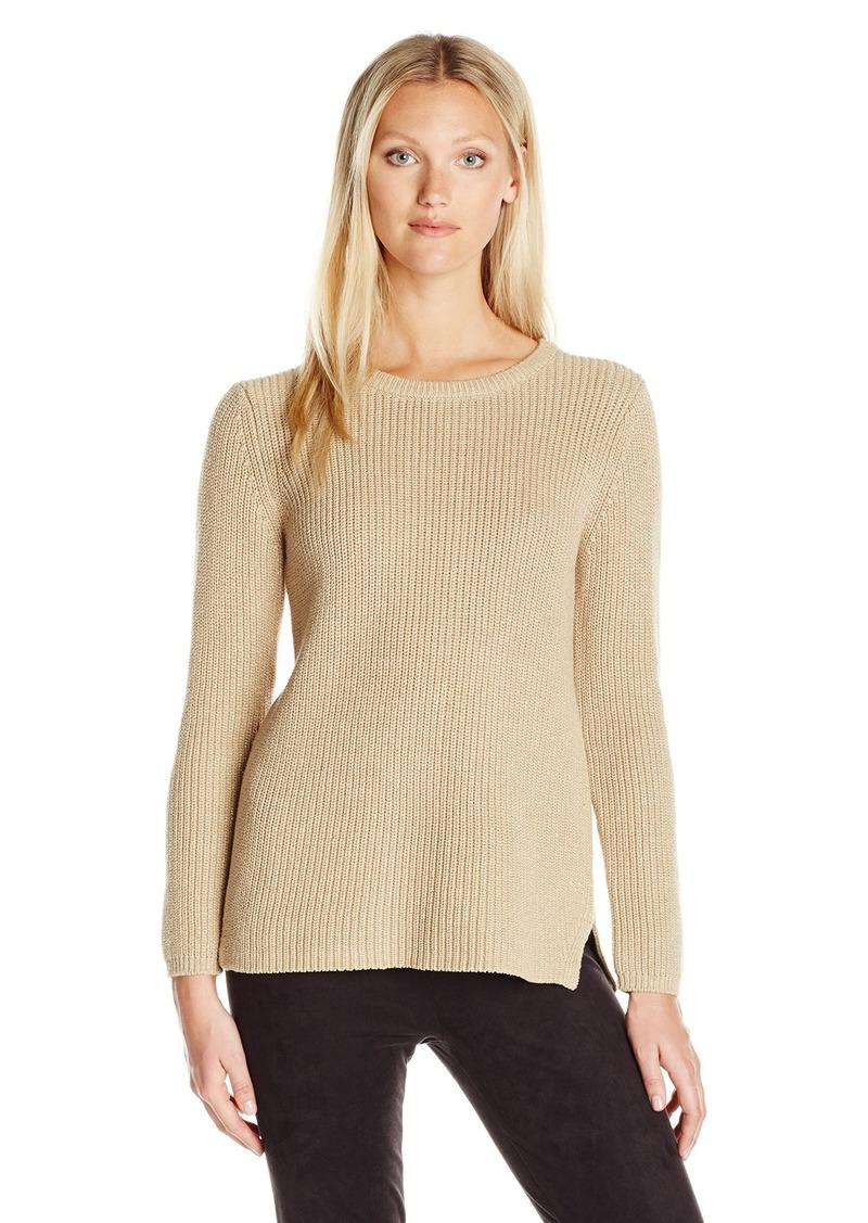 Calvin Klein Women's Crewneck Lurex Sweater  L