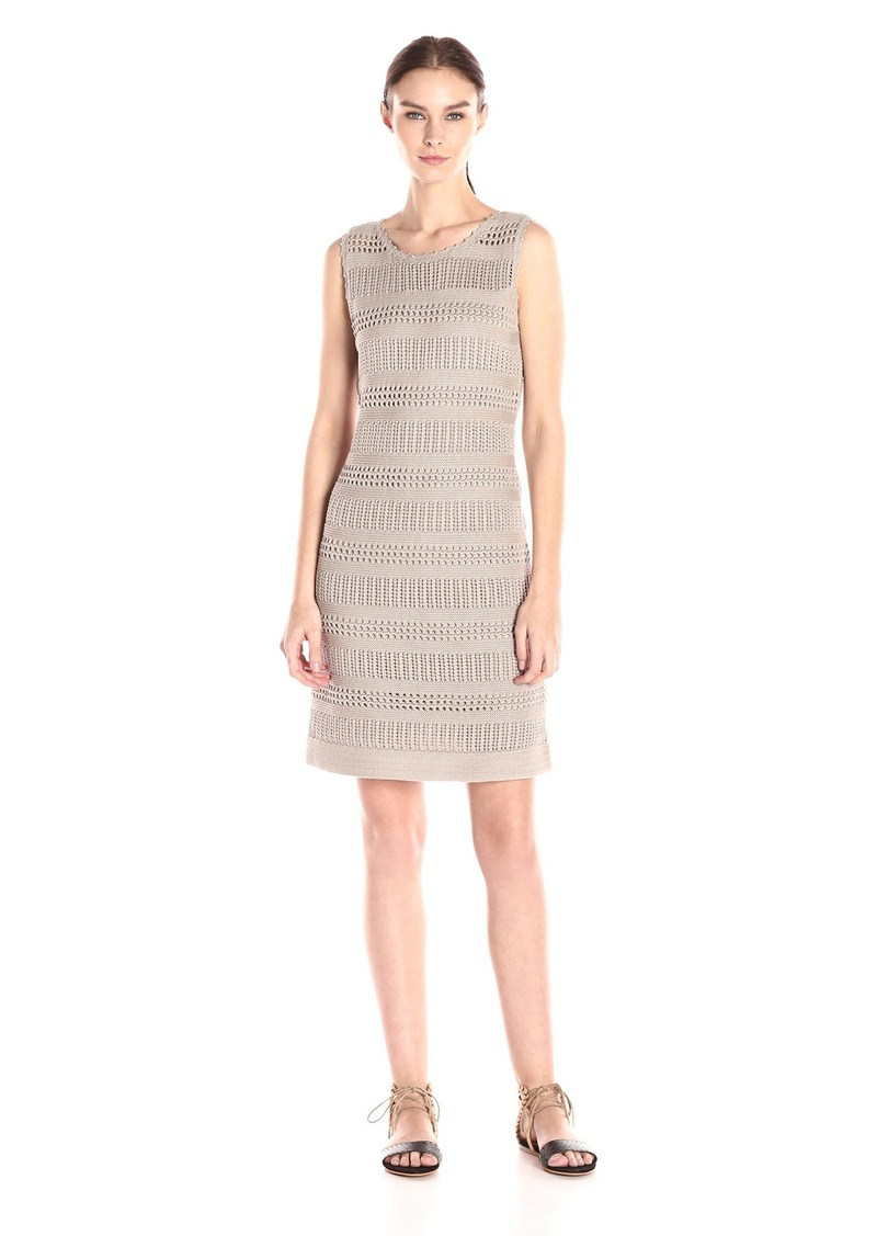 Calvin Klein Women's Crochet Sheath Dress