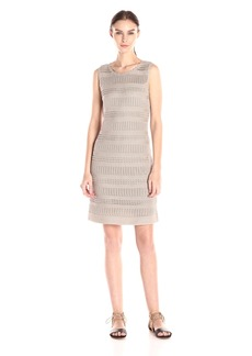 Calvin Klein Women's Crochet Sheath Dress