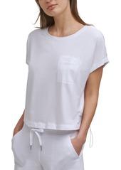 Calvin Klein Performance Women's Cropped Pocket T-Shirt