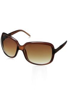 Calvin Klein Women's CWR618S Rectangular Sunglasses  64 mm