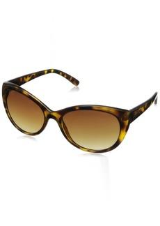 Calvin Klein Women's CWR665S Cat-Eye Sunglasses  55 mm