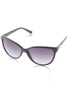 Calvin Klein Women's CWR671S Cat-Eye Sunglasses  58 mm