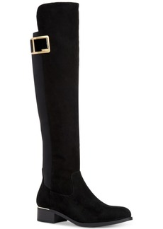 Calvin Klein Women's Cyra Wide-Calf Over-The-Knee Boots Women's Shoes