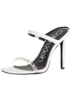 Calvin Klein Women's Dala Sandal   Medium US