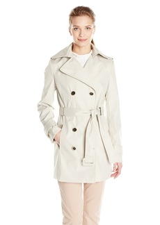 Calvin Klein Women's Db Trench Coat