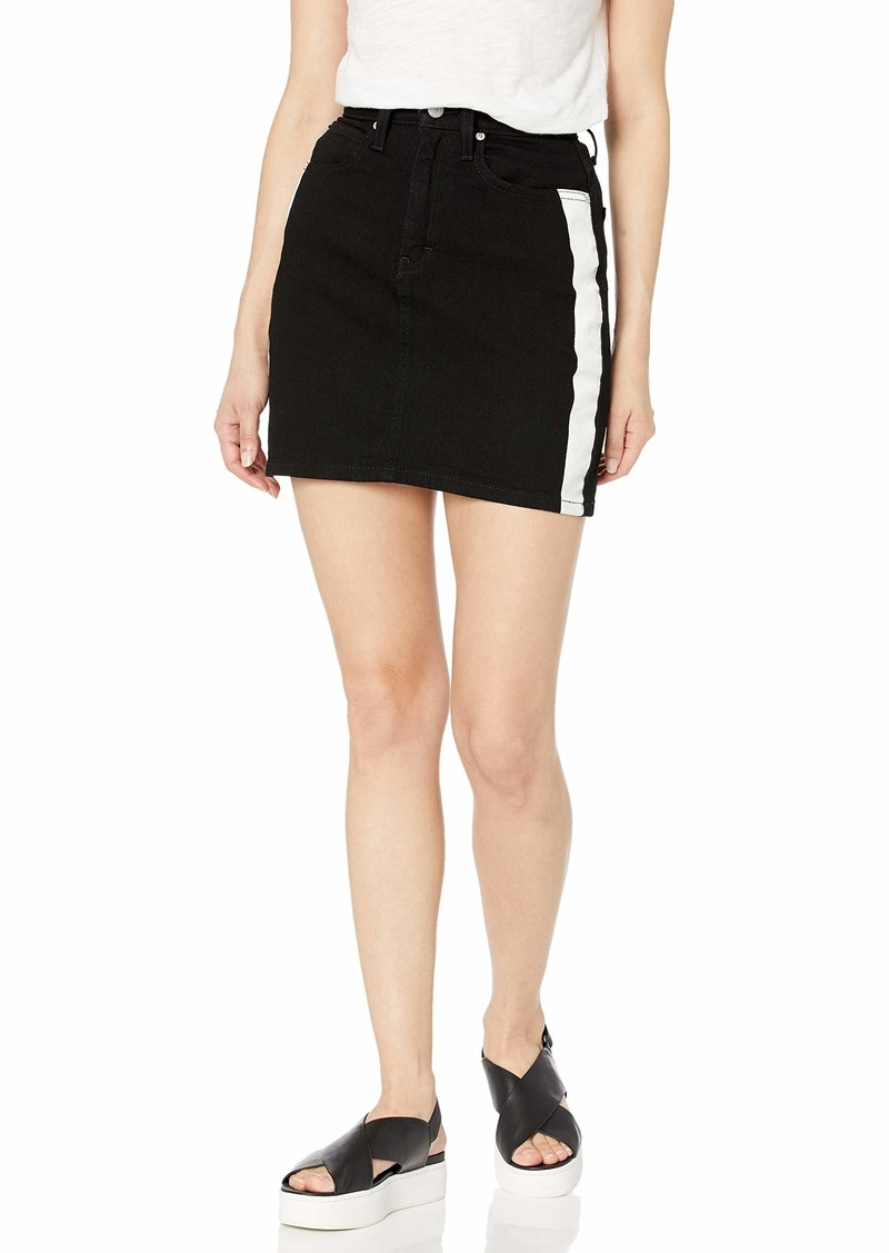Calvin Klein Women's Denim Mini Jean Skirt