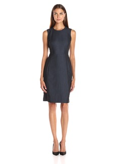 Calvin Klein Women's Denim Sheath Dress