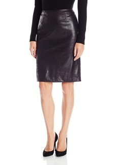 Calvin Klein Women's Distressd Pencil Skirt