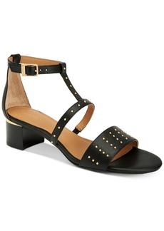 Calvin Klein Women's Divinia Block-Heel Sandals, A Macy's Exclusive Women's Shoes