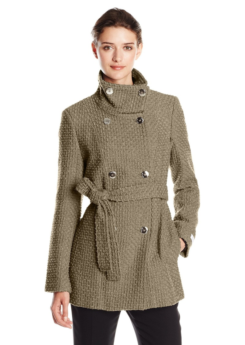 Calvin Klein Calvin Klein Women's Double Breasted Wool Coat with ...