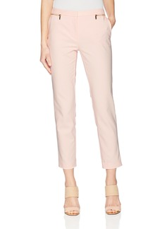 Calvin Klein Women's Double Cotton Straight Pant