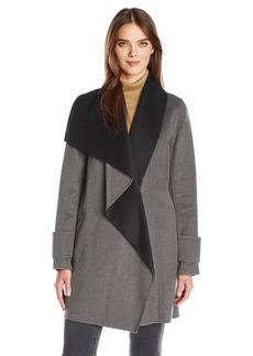 Calvin Klein Women's Double Face Wool Coat  XL