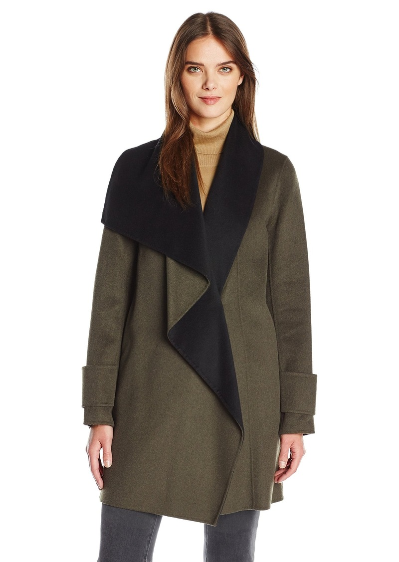 Calvin Klein Women's Double Face Wool Coat  XS