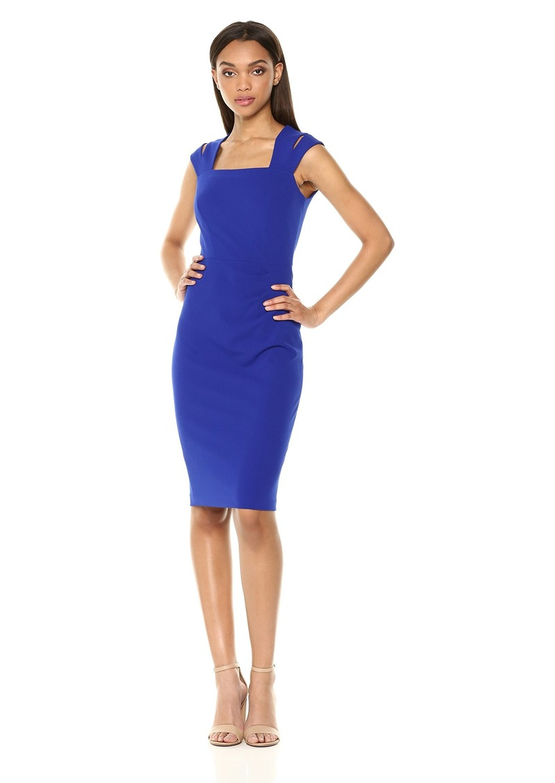 Calvin Klein Women's Double Strap Sheath Dress