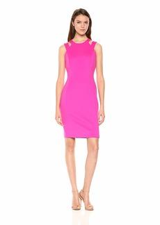 Calvin Klein Women's Double Strapped Sheath Dress