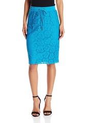 Calvin Klein Women's Drawstring Lace Skirt